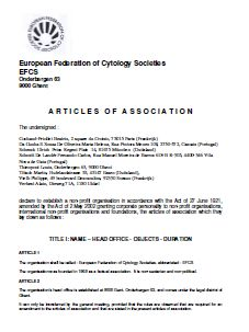 EFCS Statute